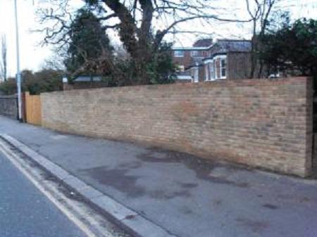 Image 5 - Long brick wall