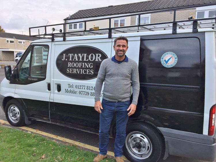J Taylor Roofing logo