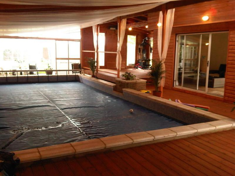 Image 8 - Fitness and Pool area in Private House