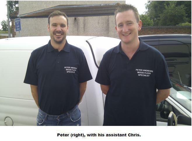 Image 5 - Peter and his assistant, Chris.