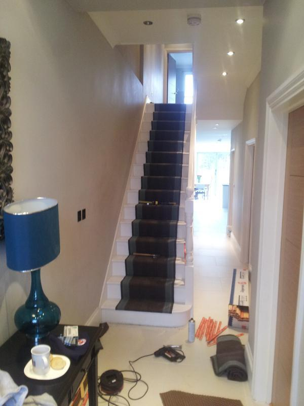 Image 11 - Stair runner fitted by James in London