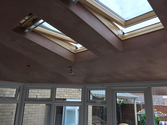 Image 26 - conservatory conversion with velux windows