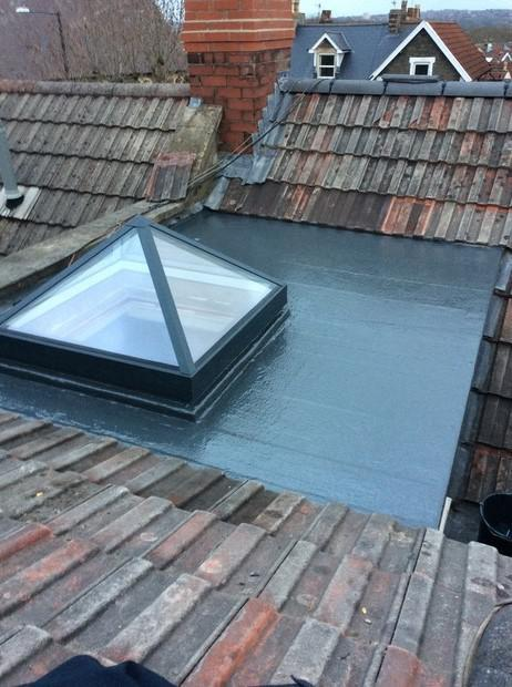 Image 8 - GRP system installed, new glass lantern also!