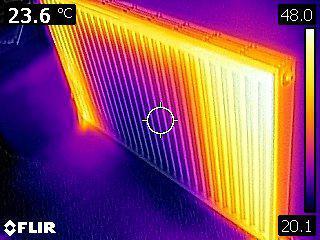 Image 13 - Cold spots in radiator