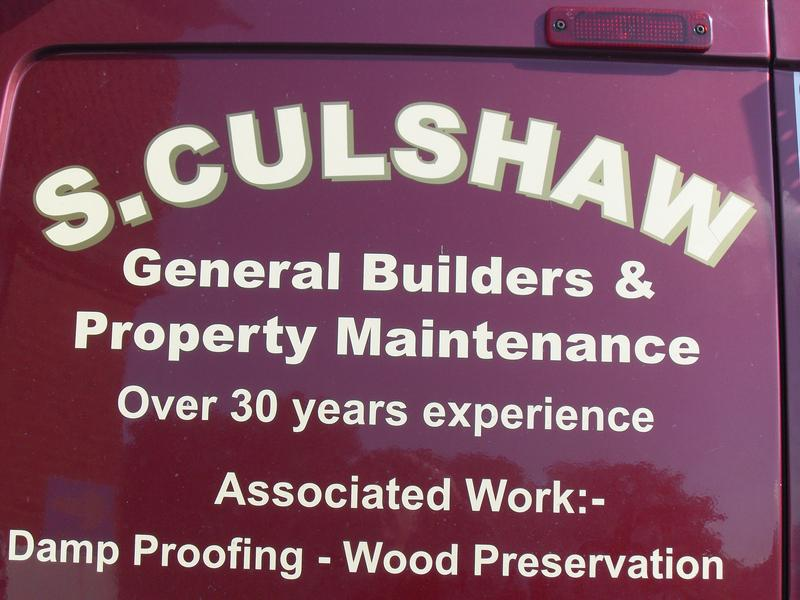 S Culshaw Damp Proofing /  Woodworm / Builders logo