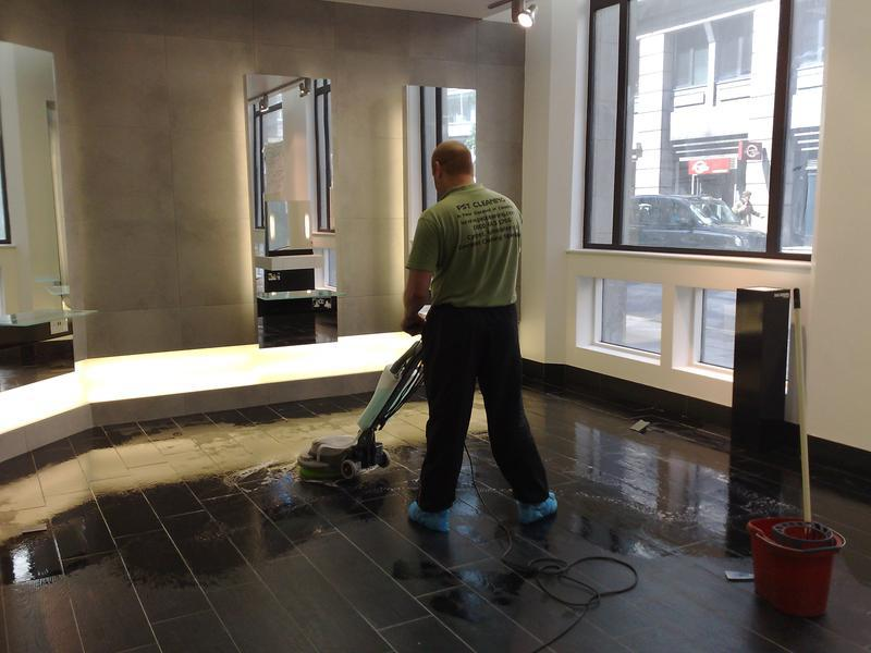 Image 24 - Hard floor cleaning London