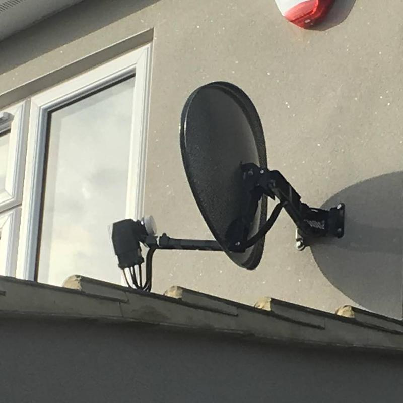 Image 2 - Back to basics today . Satellite dish installation in Gravesend. Supply and fit dish and Lnb and connect customers cables to dish. Seems ages since I was putting these up day after day.