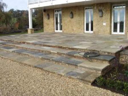 Image 4 - Steps built using slabs