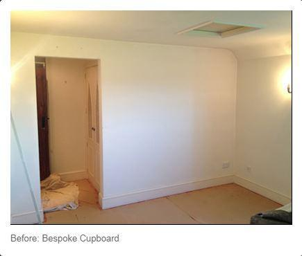 Image 76 - Before bespoke wardrobes fitted