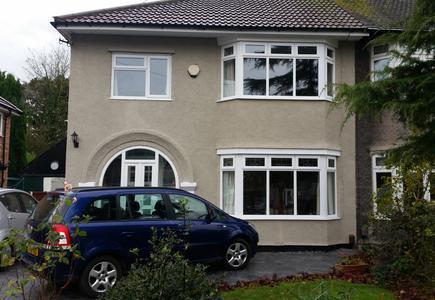 Image 4 - Pebble dashed property after coating.