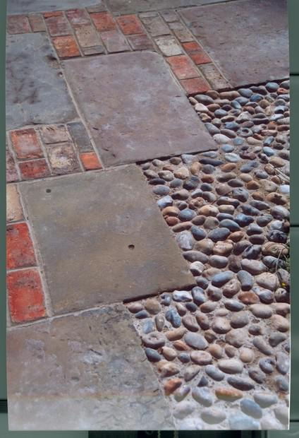 Image 28 - Reclaimed York stone, Bricks and Cobbles.. mixed paving