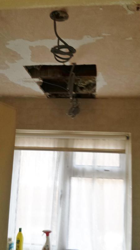 Image 4 - Bathroom ceiling being renewed