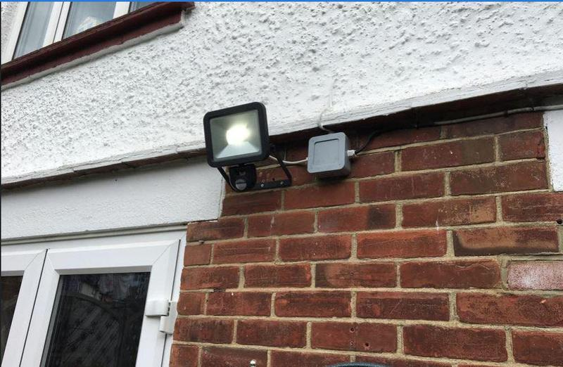 Image 22 - Outside Security sensor light