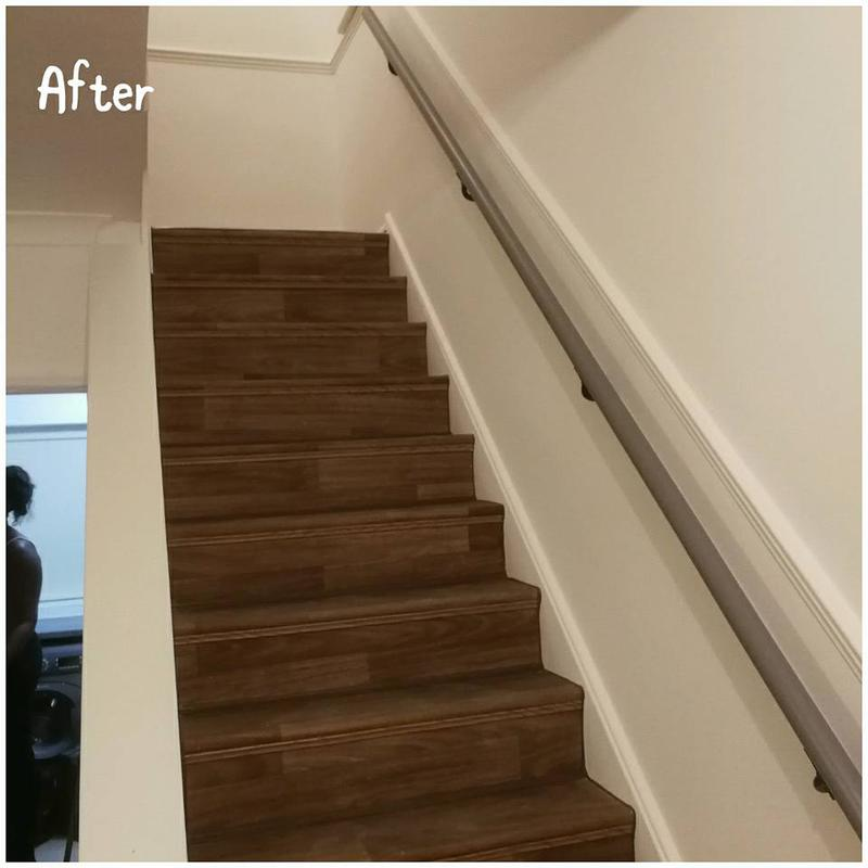 Image 92 - Stairs after renovation,Hampstead, NW3 2NN