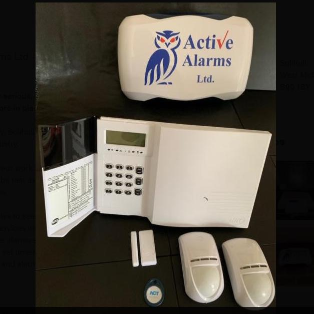 Image 4 - Full wireless alarm system with LCD Display built-in siren Can connect to your mobile phone Via an mobile App