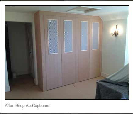 Image 77 - Bespoke wardrobes just need painting now