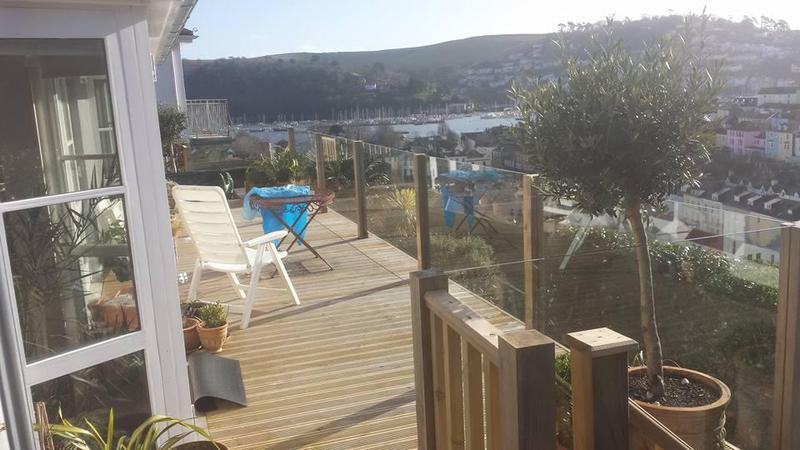 Image 9 - Large deck with Glass balustrade