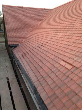 Image 5 - Maidstone Redland plain tile cottage roof renewal.