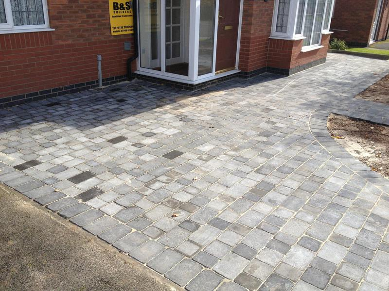 Image 5 - Redesigned front and replaced with new block paving