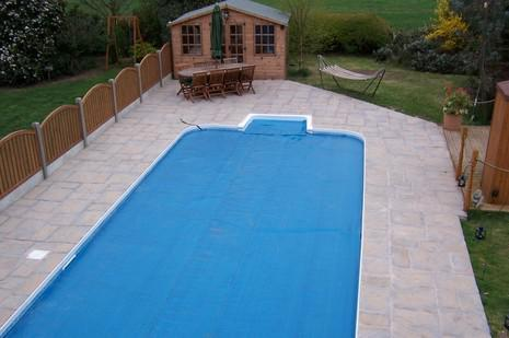 Image 5 - swimming pool completed and heater and filtration installed