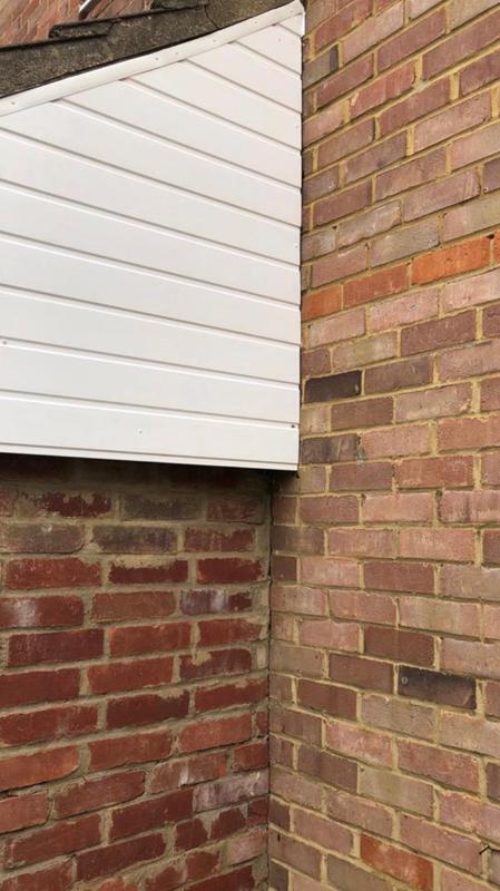Image 19 - Renewed cladding on side of roof