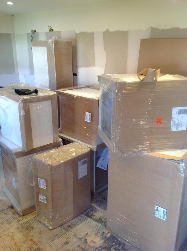 Image 99 - When kitchens are delivered it can be daunting but everything soon starts to fit into place.