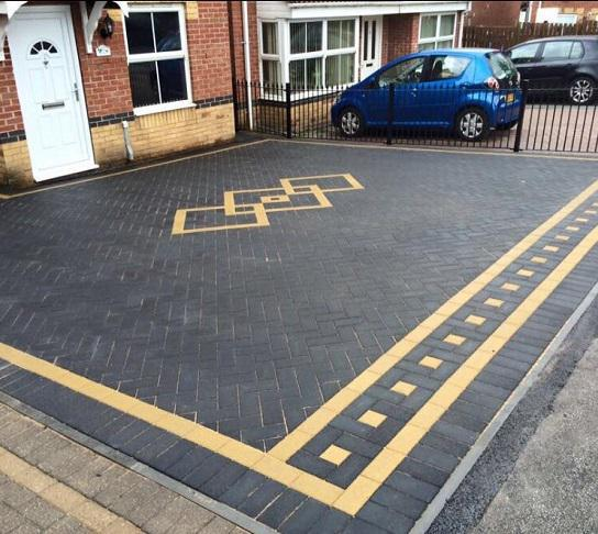 Image 80 - another happy customer for new imprinted driveway and patio in Bestwood Park Nottingham