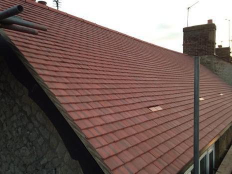 Image 8 - Maidstone Redland plain tile cottage roof renewal.