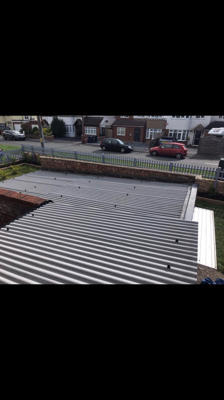 Image 18 - Renewed corrugated sheeting