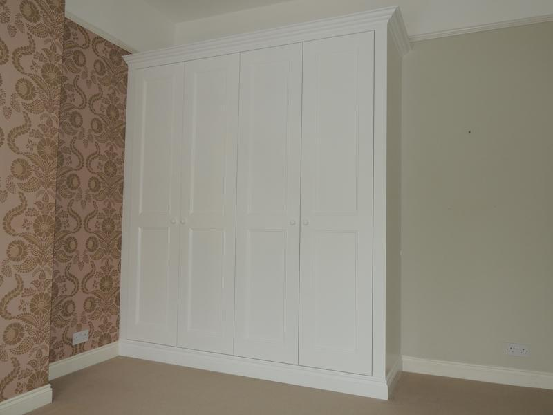 Image 1 - Large period style wardrobe with shaker style doors.