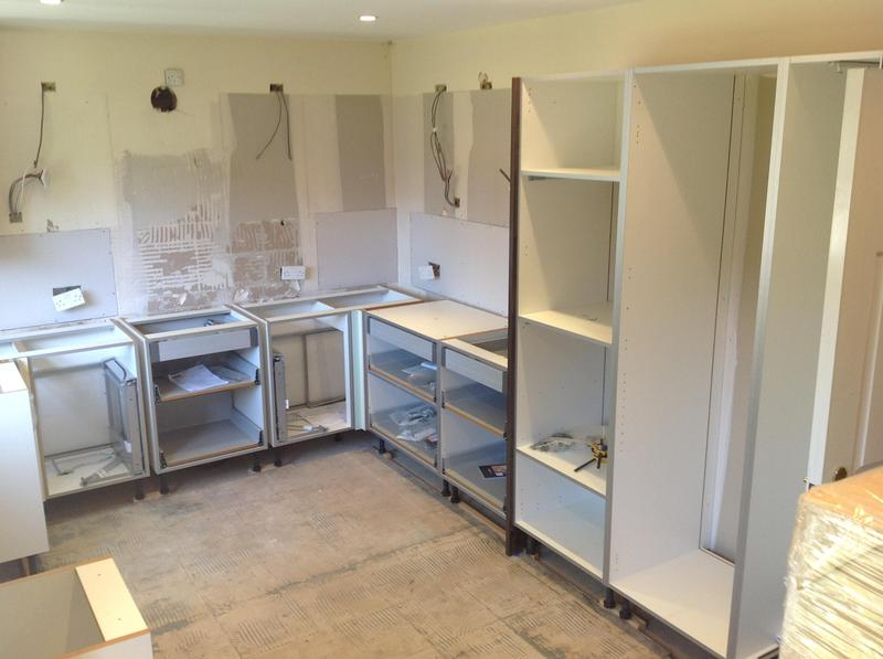Image 100 - When kitchens are delivered it can be daunting but everything soon starts to fit into place.