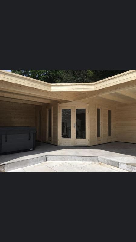 Image 52 - Jutka log cabin.