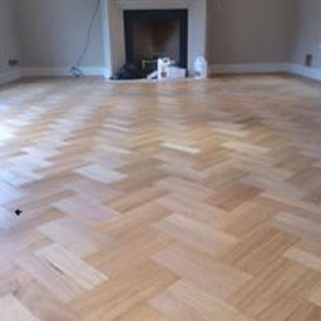 Image 38 - Block floor fitted and sanded with bona/Kemp traffic