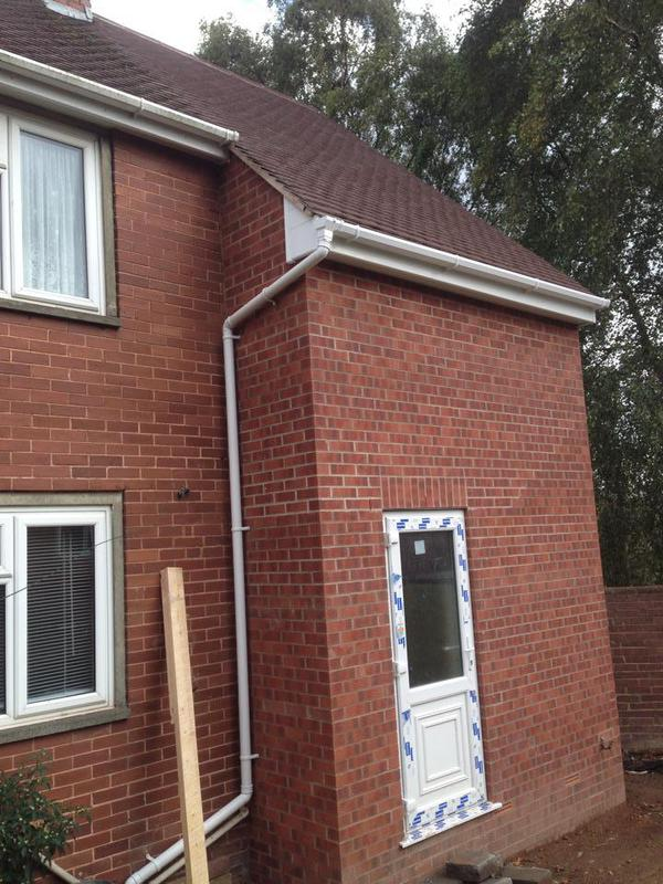 Image 27 - A 2 storey side extension we done