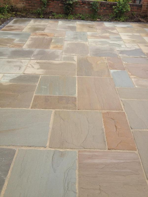 Image 9 - Patio in India stone