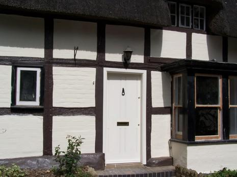 Image 9 - external work completed to flood damaged house in evesham