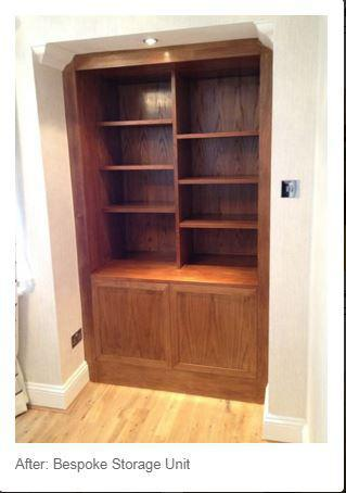 Image 85 - Bespoke display unit made and fitted