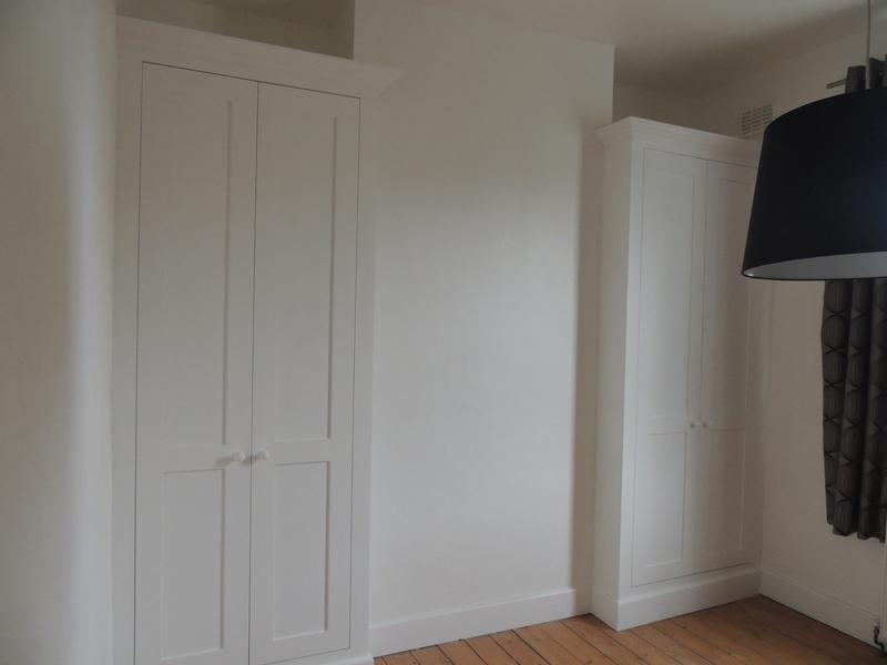 Image 5 - Classic period style twin wardrobes.