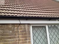Image 14 - Concrete gutter removal, replaced with UPVC fascia and gutters