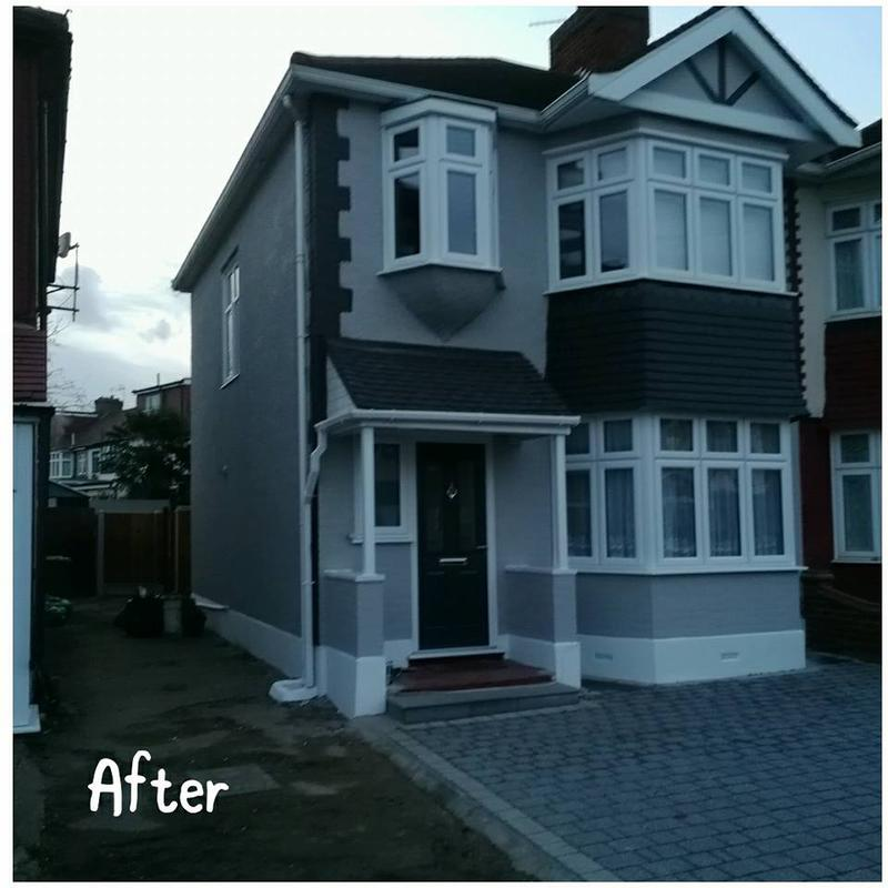 Image 98 - Painting works after,Leytonstone, E11 3QP