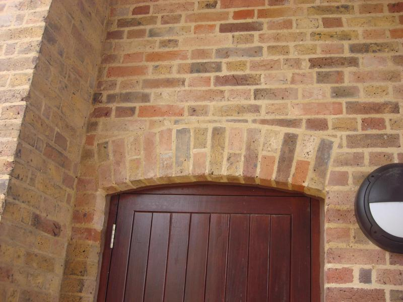 Image 2 - Hand cut Arch & pointing works Feltmores Farm