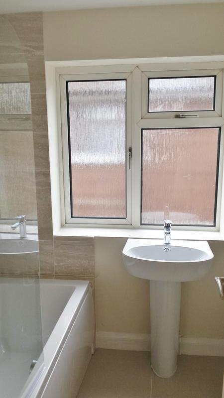 Image 14 - New bathroom from doorway