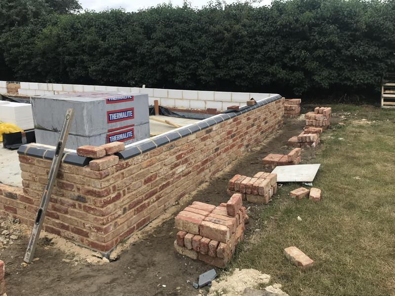 Image 6 - Brickwork to plinth on bungalow