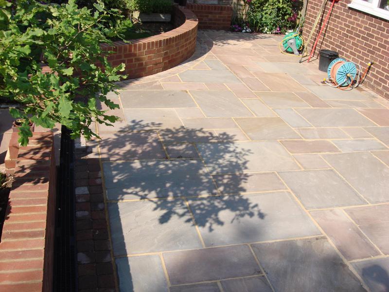 Image 5 - Indian Stone patio & garden walls again North Weald