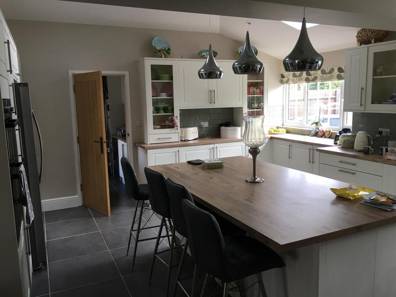 Image 4 - Another extremely happy customer all settled in with there new kitchen