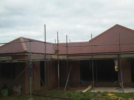 Image 16 - Orpington Redland plain tile roof renewal.