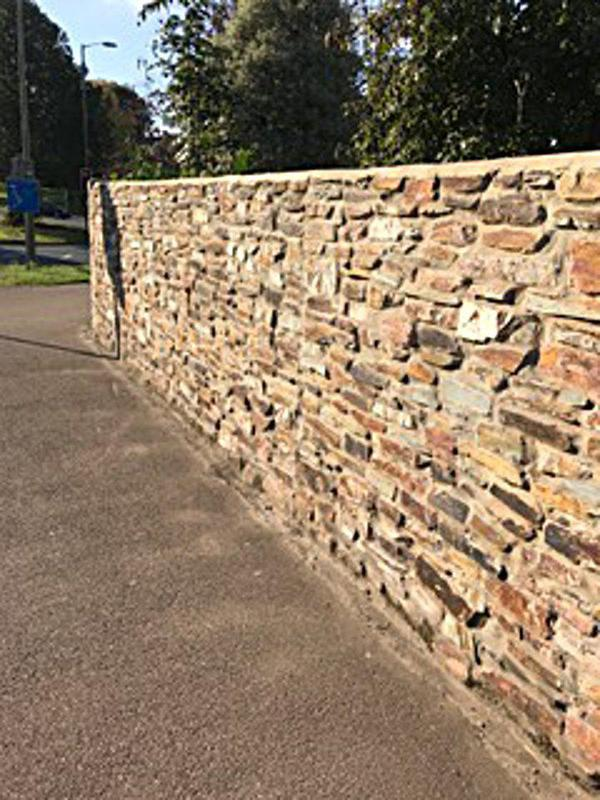Image 33 - Another part of the Cornish stone wall we done