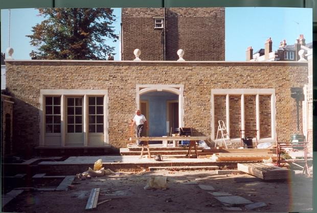 Image 40 - Studion construct, London stocks, Sand stone Apse, Mullions, Arches and Reveals