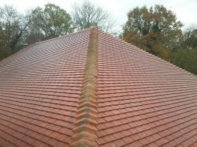 Image 17 - Orpington Redland plain tile roof renewal.