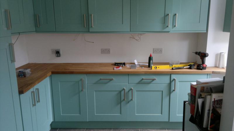 Image 40 - kitchen worktop renewed